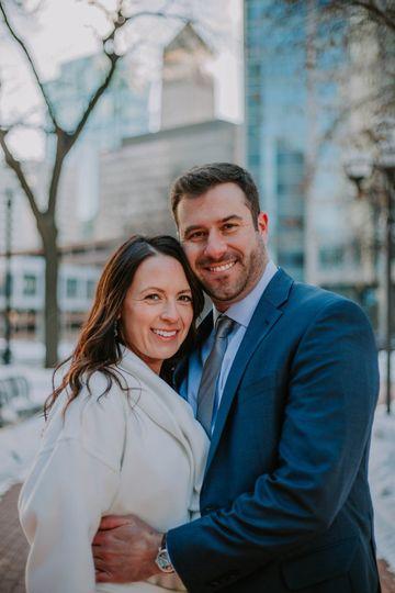 Minneapolis courthouse wedding
