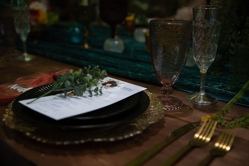 Table scape design
