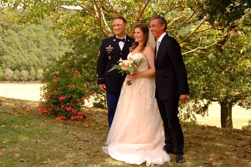 Wedding celebrant Luca