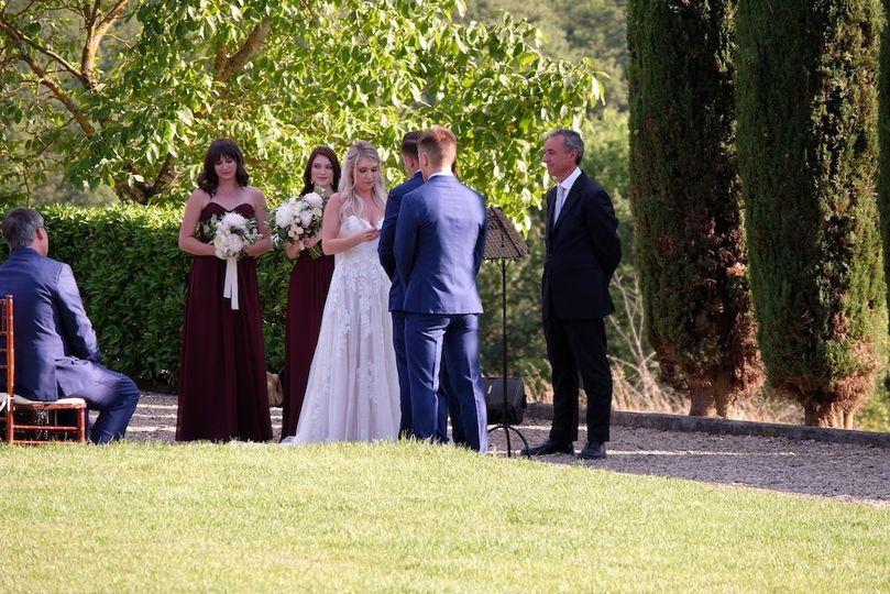 Cypress tree Wedding