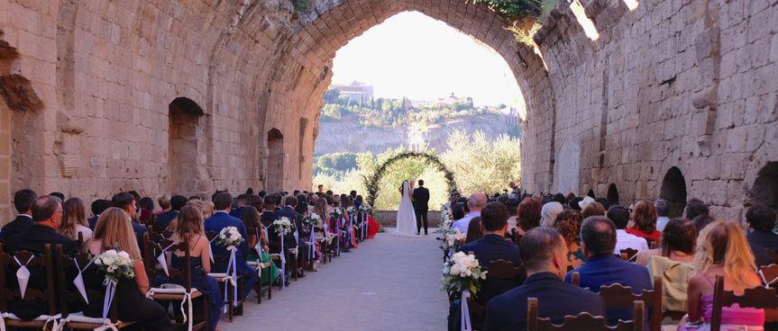 Rosetta Stone Wedding Umbria