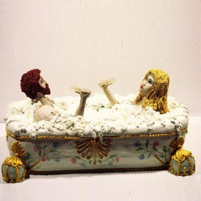 Tmx 1195677460529 Cake3 West Hollywood wedding cake