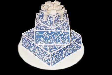 Tmx 1200088305688 Classicwed7 West Hollywood wedding cake