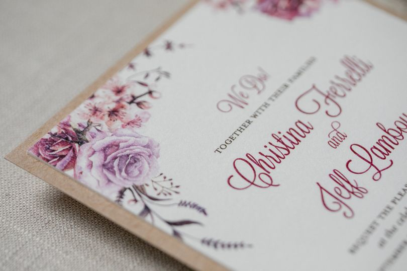 Rustic Kraft Invitation
