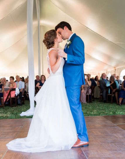 There is nothing like that First Dance, celebrated in front of family and friends.