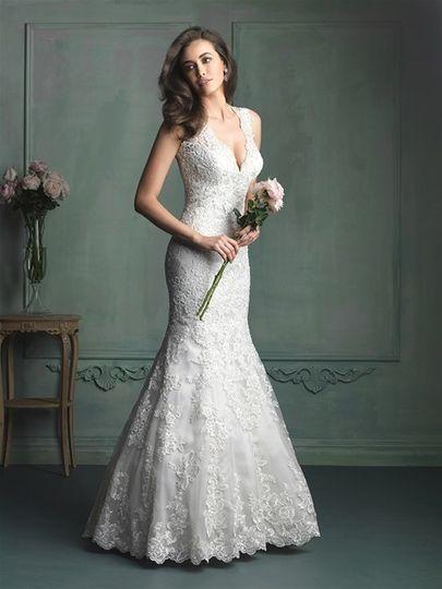allure bridal 9104