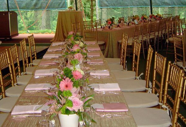 Tmx 1179321884281 PINKCRUSHEDSHIMMERGUESTTABLES Spring Valley wedding rental