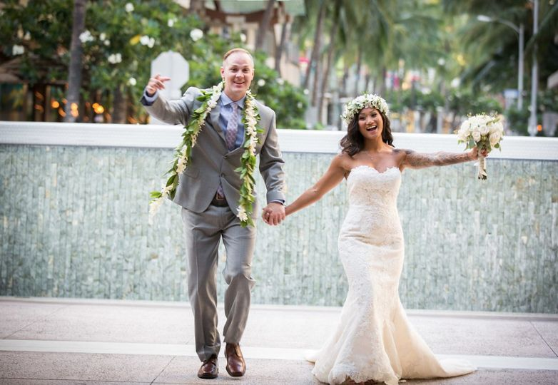 Halekulani Hotel Wedding