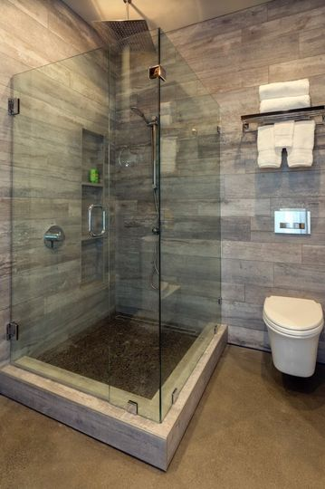 Master suite's shower