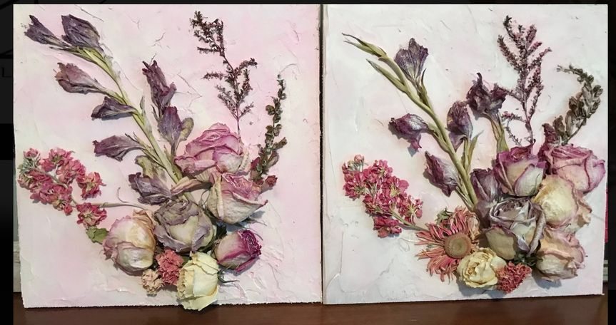 Pink and Purple Canvas