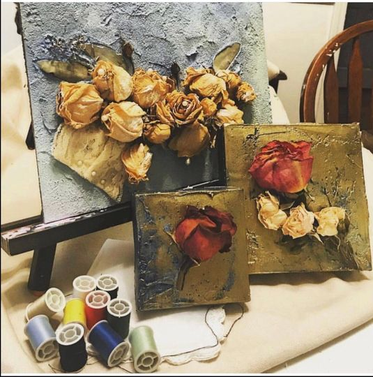 Gallery Wrapped Canvas Flowers