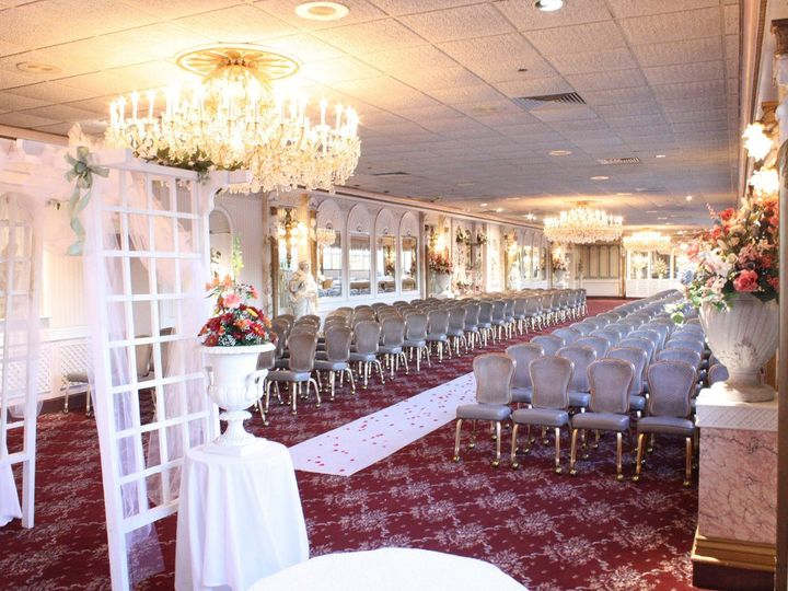 Tmx 1346963058483 RoseTerraceCeremonyResized Bensalem, PA wedding venue