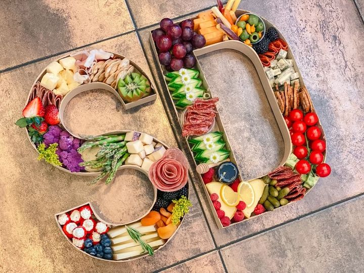 Delicious letters and numbers