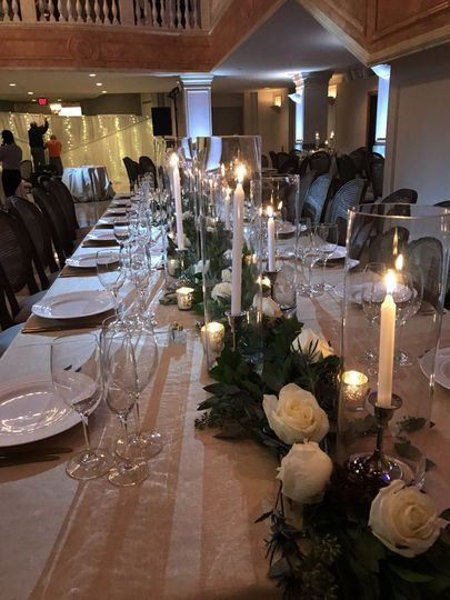 Long centerpiece