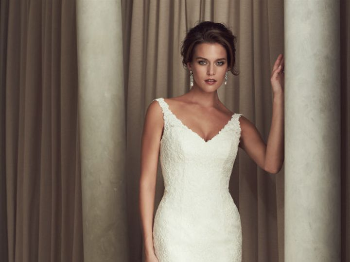 Tmx 1421425127533 Paloma Blanca  Gown 4451  Front Raleigh, North Carolina wedding dress