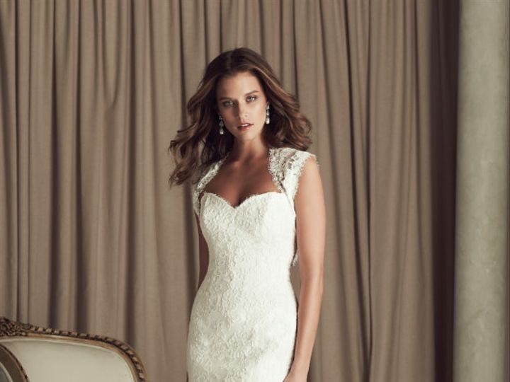 Tmx 1421425140689 Paloma Blanca  Gown 4455  Front0 Raleigh, North Carolina wedding dress