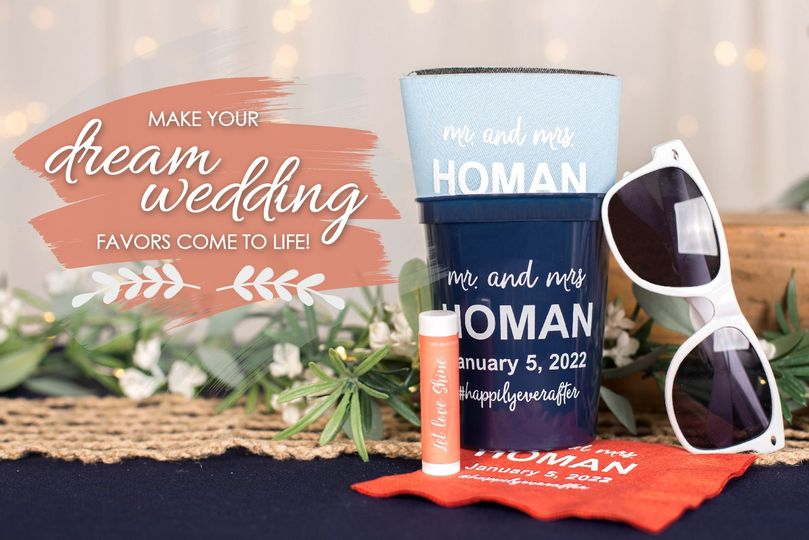 Wedding Favors + Essentials