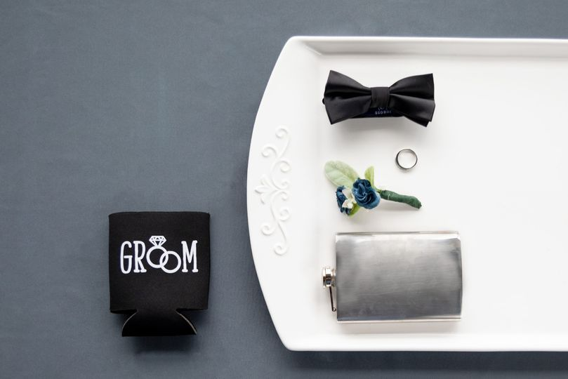 Groom wedding essentials