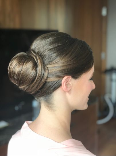 Graceful updo