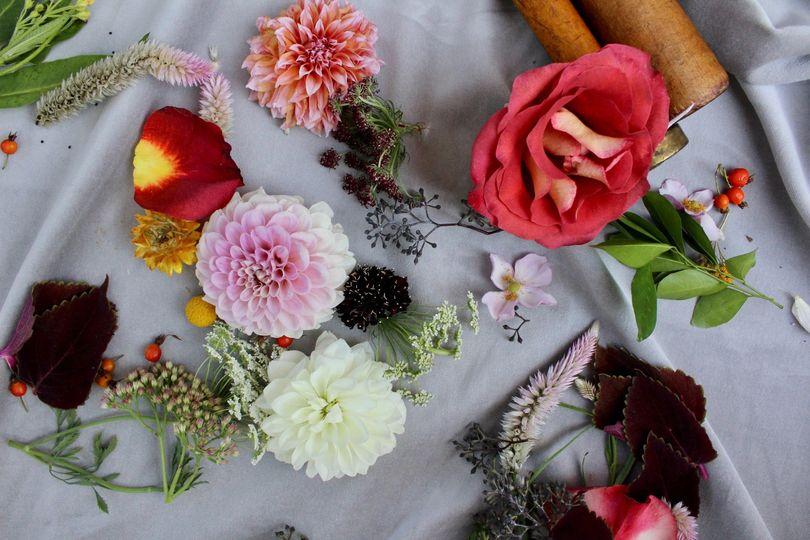 Fresh, local florals
