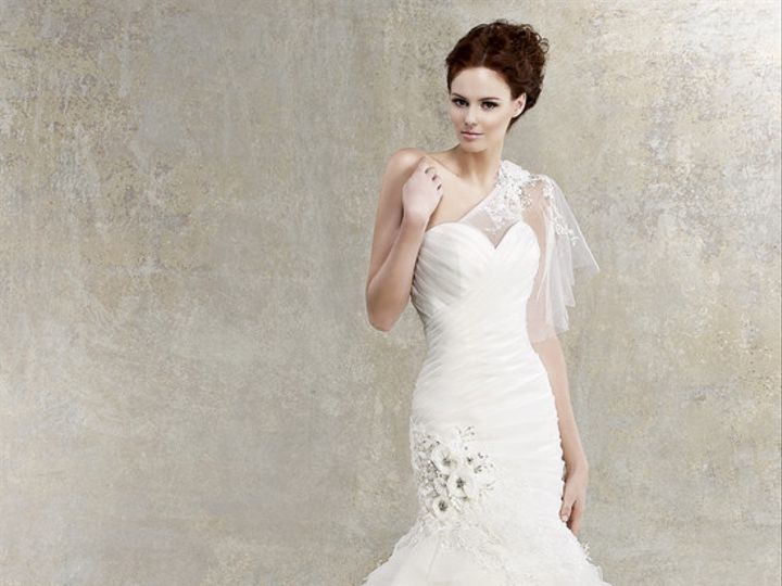 Tmx 1375127674785 Kitty Chen   Aria Northfield wedding dress