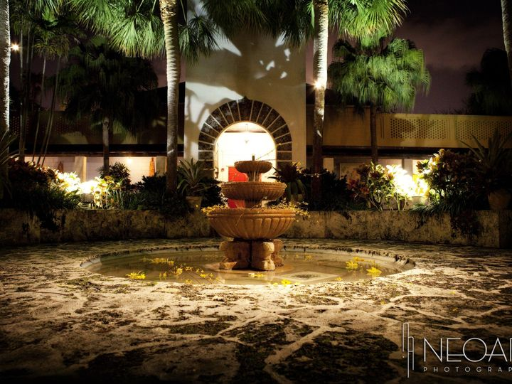 Tmx 1376584465863 Fountain At Night Fort Lauderdale, FL wedding venue
