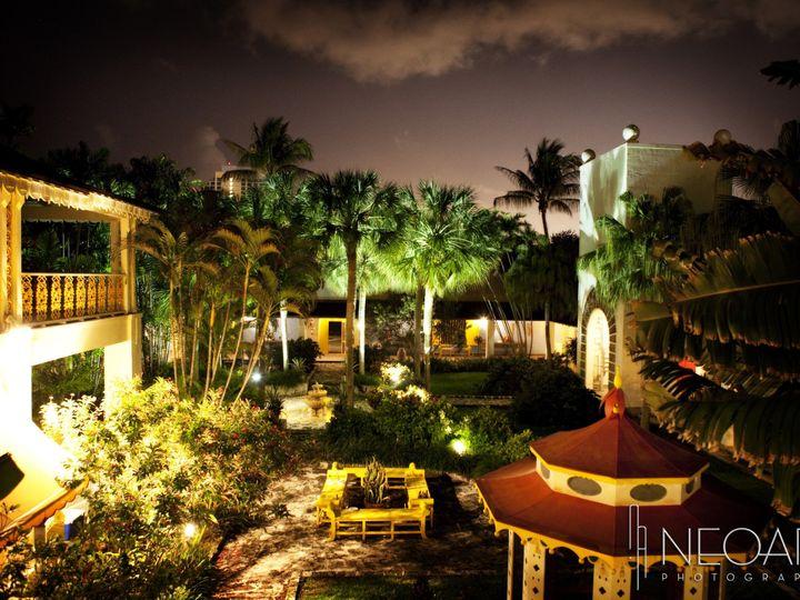 Tmx 1376584554673 Courtayrd At Night Fort Lauderdale, FL wedding venue