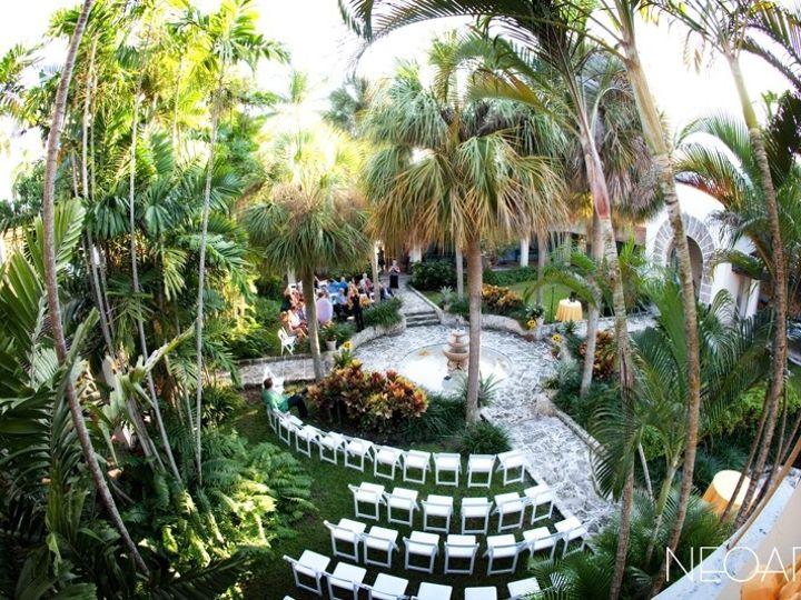 Tmx 1377193314031 Courtyard Ceremony Fort Lauderdale, FL wedding venue