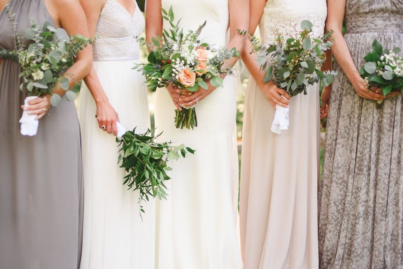 Mixed Greenery Bouquets