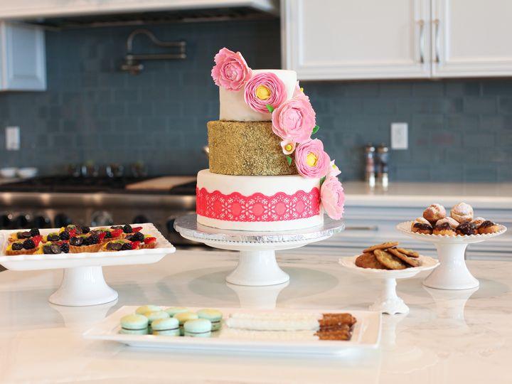 Tmx 1485907494258 Img9481 Burbank wedding cake