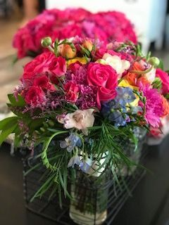 Mixed Spring colors for a Bride's Bouquet by Alta Fleura