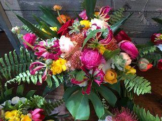 Tropical Flower Bridal Bouquet