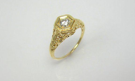 Tmx 1357318643306 Antiquefiligree Raleigh wedding jewelry