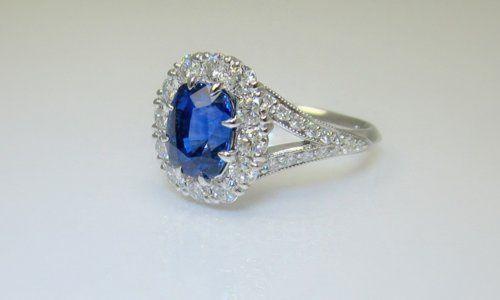 Tmx 1357320858379 Sapphireanddiamondengagement Raleigh wedding jewelry