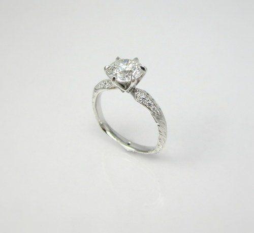 Tmx 1357326730663 Handengravedtopview Raleigh wedding jewelry