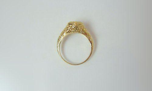 Tmx 1357326828205 Antiquefiligreesideview Raleigh wedding jewelry
