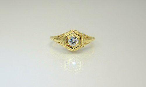 Tmx 1357326828923 Antiquefiligreetopview Raleigh wedding jewelry