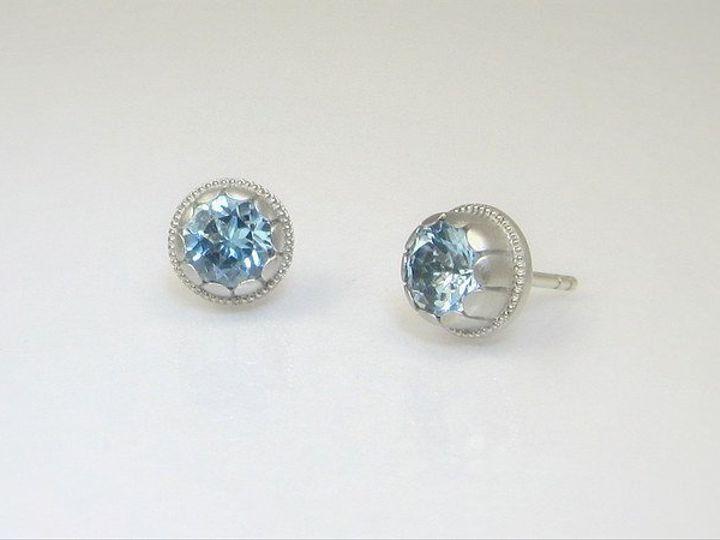Tmx 1357340988591 Aquamarinestuds Raleigh wedding jewelry