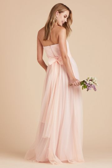 Christina Dress | Blush Pink