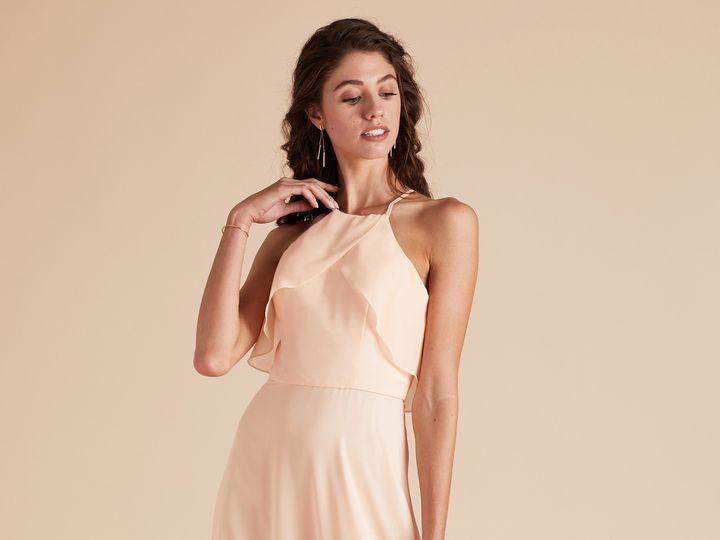 Tmx 1510107608808 Julia Dressbirdy Greypeach1 Los Angeles, CA wedding dress