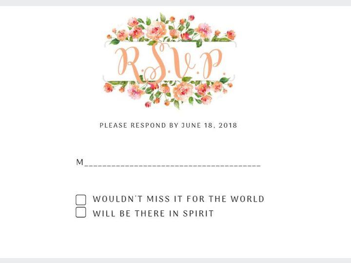 Tmx 1485558426459 Rsvp1 Carrollton wedding invitation