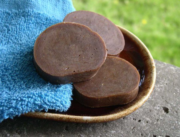 Drifter, our most popular men's scented soap, is colored a rich chocolate brown by the natural...