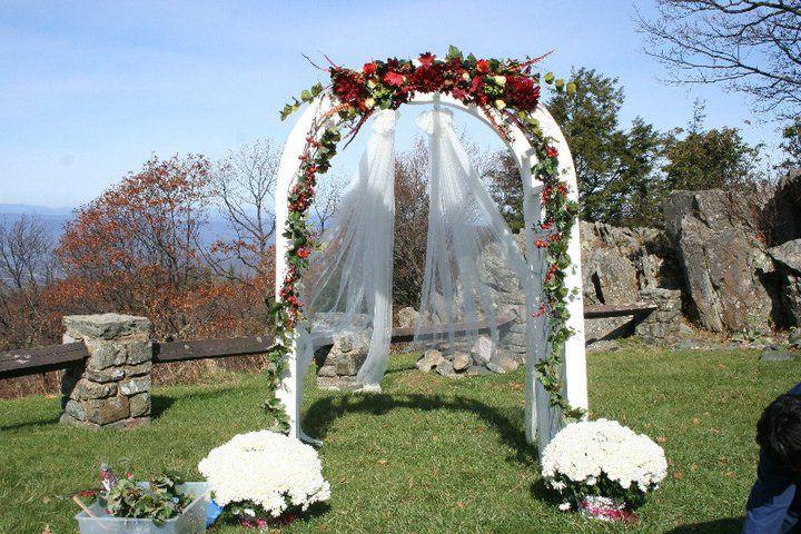 Skyland Wedding Arch