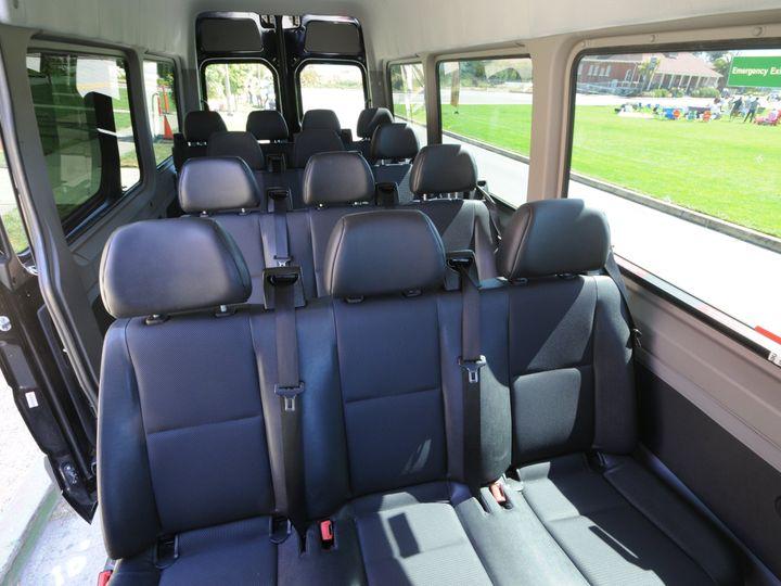 Tmx Mercedes Benz Sprinter 3 51 1031455 Oakland, California wedding transportation