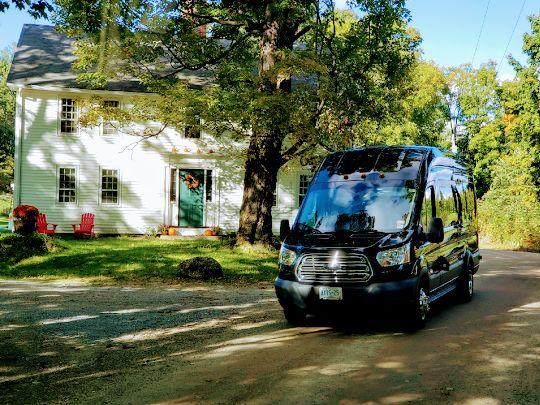 Outdoor Wedding Transportation