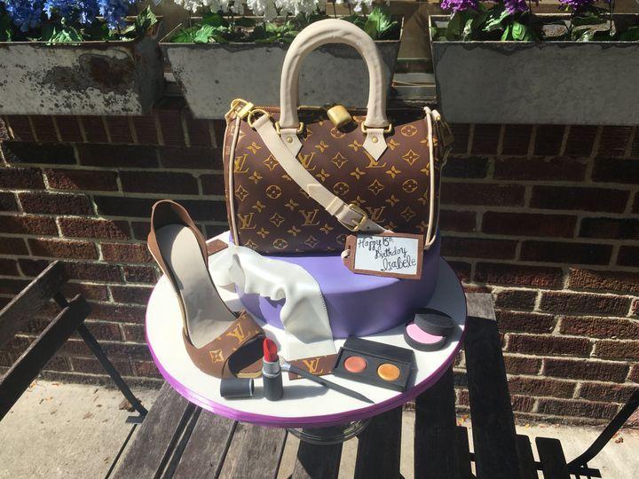 Tmx Louis Vuitton 51 82455 V3 Jenkintown, Pennsylvania wedding cake