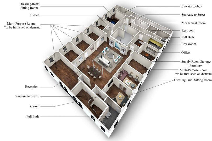 3rd floor rendering
