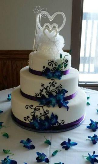 rebekah goelzer and william kilmer cake decor