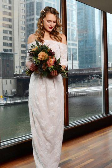 Daniella Lace Gown