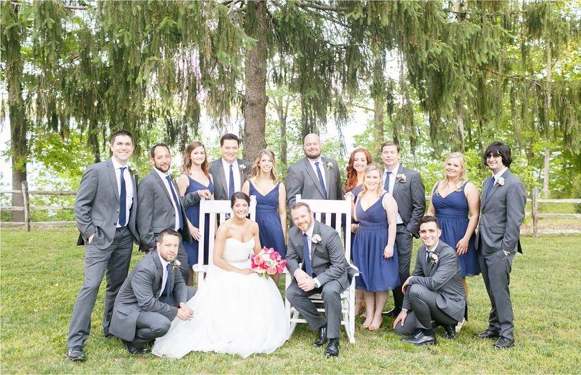 celebrations at the reservoir virginia wedding pho